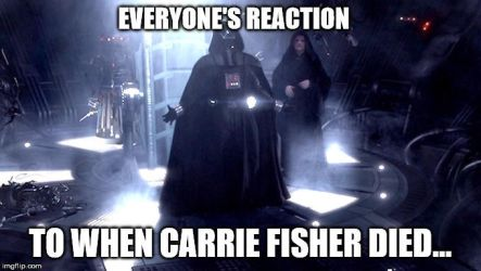 Carrie Fisher's Death by Fujin777