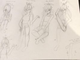 Sketches (WARNING bad quality) by Pinkie---Dash
