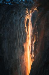 Fire Fall Down by StevenDavisPhoto