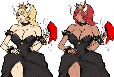 Bowsette by Mrlacseul-Colored by RBL-M1A2Tanker