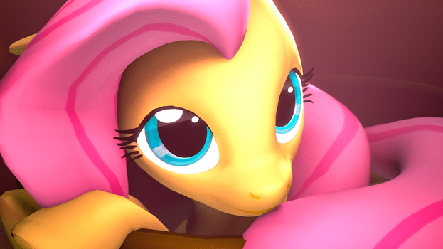 Fluttershy Blinking {SFM} {Animation} by MelodyCloud14