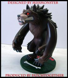 werewolf toy color preview by missmonster