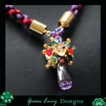 Oriel necklace close up by EssiesJewels