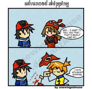 PKMN: Adv. Shipping Comic by OneWingedMuse