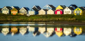 Huts Of Colour by EmMelody