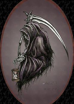 Grim reaper by Barguest