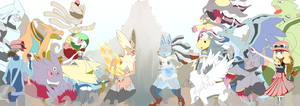 The Mega Evolutions by szynka2496