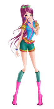 Roxy Flamingo by WinxClubRus