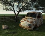 Fiat 600 broken by diegoreales