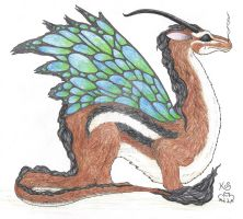 Ayelie Dragon by Scellanis