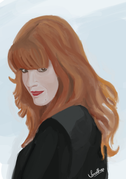Florence Welch by IanaAlves