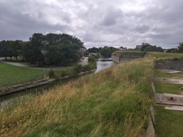 View of FOMR Moat by usedbooks