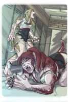 Lycanthrope Club Book I Teaser 3 Colored by alfaluna