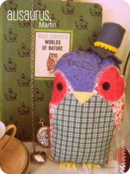 Mr. Martin Owl. by alannah-the-pirate