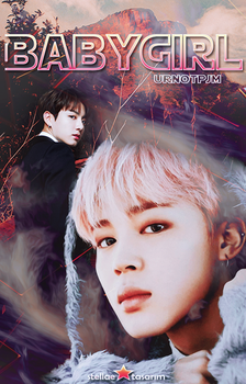 Babygirl / Wattpad Book Cover 6 by sahlimamat
