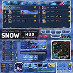 Snowdown HUD - League of Legends by AliceeMad
