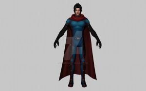 Wiccan (New Avengers) (MFF 3D Model) by Pitermaksimoff