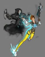 Tracer / Reaper by williamshiao