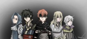 The Handsome Five by demyx321