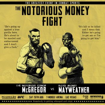 The Notorious Money Fight by Drawing-Bad