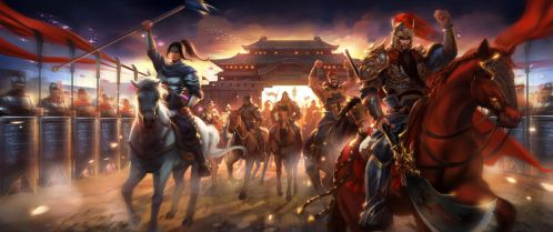 The Three Kingdoms 01 by zippo514