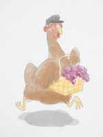 Chicken With Grapes by WickedOffKiltah