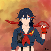 Matoi Ryuko by DarkGrem