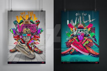 Personal Project  Vans Off the Wall by xjosh2k6x