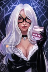 Black Cat :NSFW Optional: by OlchaS