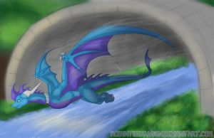 Agility .:Commission:. by RobynTheDragon
