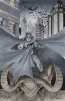 Batman commission by Sajad126