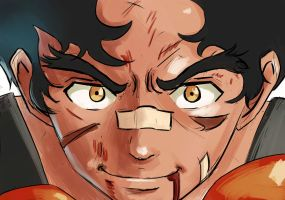 Megalo Box: Joe's fury by TheHentaiArtist