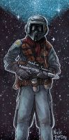The Guy Wearing The Black Biker Scout Helmet by Phraggle
