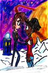 The 10th Doctor and Martha by SonicClone