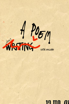 [Cover Art] A Poem About Writing by vampyremuffin