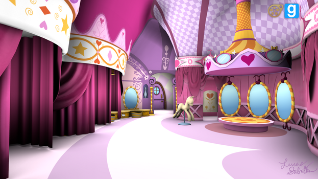 Carousel Boutique - Game Models by discopears