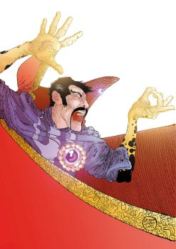 Dr Strange by lucianosalles