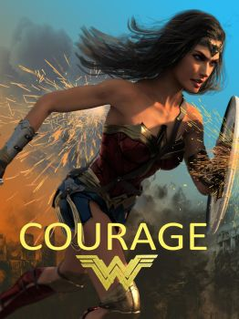 Wonder Woman: Courage by DahriAlGhul