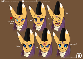 Tao Faces by DoomXWolf
