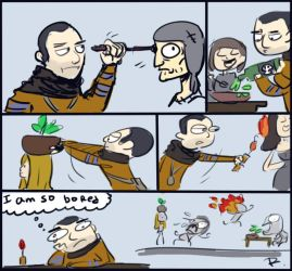 The Witcher 3, doodles 65 by Ayej