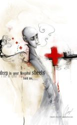 +hospital sheets+ by SpookyChan