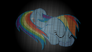 Sleepy Rainbow Dash in Text by uxyd