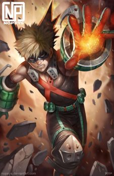 Bakugou by NOPEYS