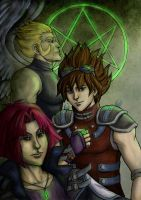 YGO: Swordsmen of Doma by foxysquid