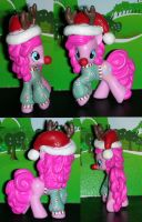 Christmas Pinkie Pie from My Little Pony by TianaTinuviel