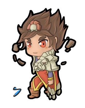 Taliyah Chibi by I-see-no-Bottle