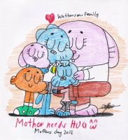 Mother needs HUG by murumokirby360