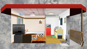 [DL] MMD Small Apartment Stage 2 by Maddoktor2