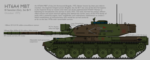 HT6A4 'Alentyr C' Main Battle Tank [Graphic] by SixthCircle
