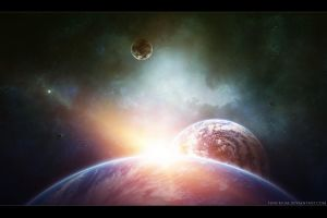 Moment in space LVII by Funerium